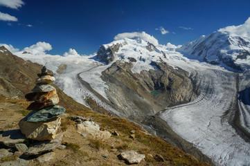 Glaciers at Gornergrat