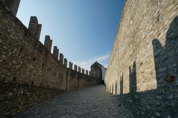 Castlegrande Castle in Bellinzona