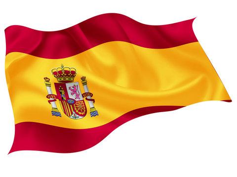 スペイン  国旗 世界 アイコン