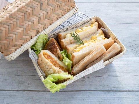 サンドイッチ ランチボックス