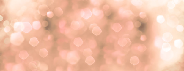 Fototapete - abstract pink and green bokeh background