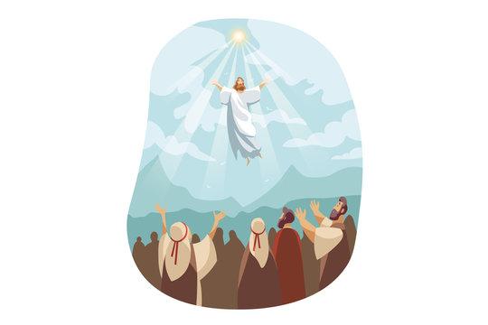 Ascension of Jesus Christ, Bible concept