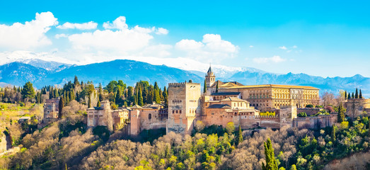 Wall Mural - Alhambra palace in Granada, Spain