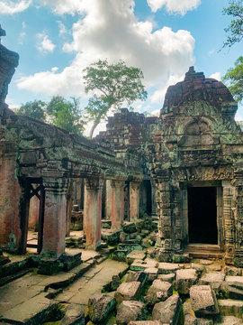 Galerie intérieur de Preah Khan