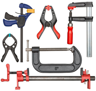 Bar clamp set