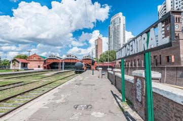 Papiers peints Amérique du Sud Former Rosario Central main train station in Rosario.