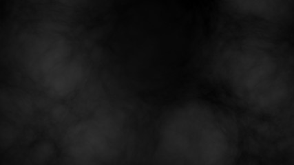 Garden Poster Smoke Illustration of smoke in front of black background