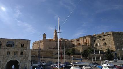 Wall Murals Ass Malta Valletta near to mediterranean sea