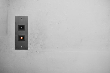 Poster Macarons Push button Elevator Switch On the wall