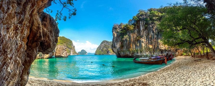 Blue water at  Lao Lading island, Krabi Province, Thailand(Paradise)