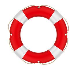 Lifebuoy Ring Isolated