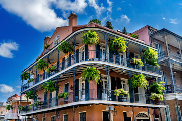 Old Building French Quarther Dumaine Street New Orleans Louisiana Fotomurales