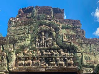 Fronton, temple de Preah khan