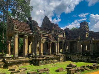 Entrée nord du temple de Preah Khan