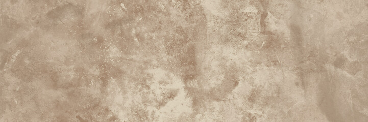 Obraz Old beige wall texture abstract background. Panoramic view. - fototapety do salonu