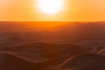 Canvas Prints Magenta desert