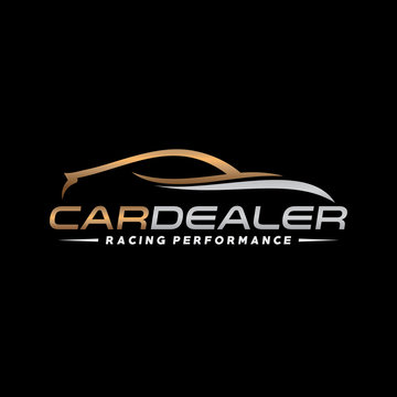 Automotive, Car Showroom, Car Dealer Logo Vector