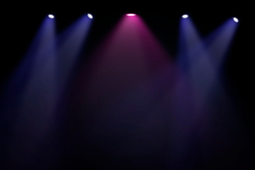 Wall Mural - Spotlights on stage background