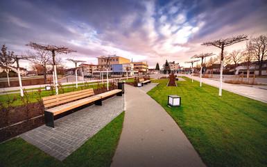Neuer Marktplatz in Ketsch am Rhein