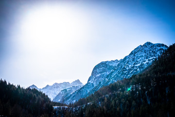 Wall Mural - mountains at the austrian karwendel