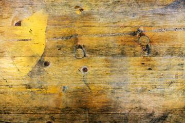 Wall Mural - Grunge wooden background