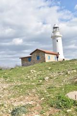 Latarnia morska Paphos Cypr
