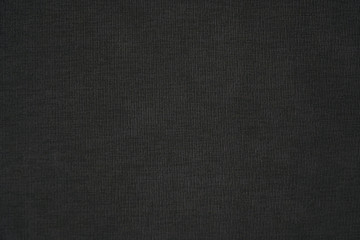Black wool fabric texture background