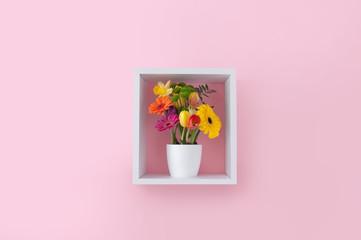 Fototapete - Spring flowers