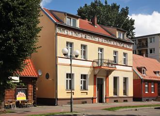 Obraz View of Nowy Dwor Gdanski. Poland - fototapety do salonu