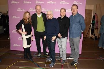 Lorin Latarro, John O'Farrell, Jerry Zaks, Wayne Kirkpatrick, Karey Kirkpatrick Photo Call for MRS. DOUBTFIRE Meet and Greet with Cast and Creative Team