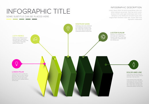 Green Infographic Layout