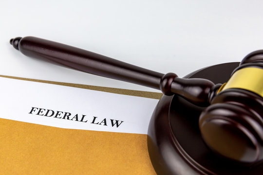 Judges gavel on document