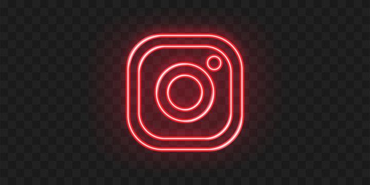 Instagram, social media logo icon. Editorial illustration. Vinnytsia, Ukraine - Fabruary 20, 2020