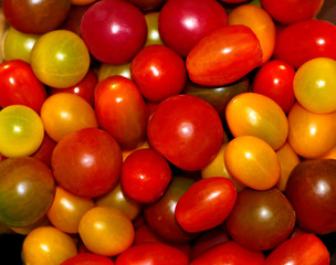 Bowl of Ripe Cherry Tomatoes