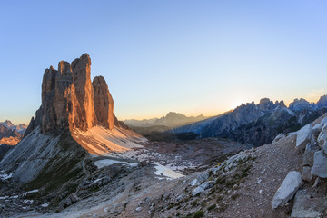 Wall Mural - Tre Cime. Dolomite Alps, Italy