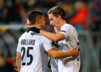 Europa League - Round of 32 First Leg - AZ Alkmaar v LASK Linz