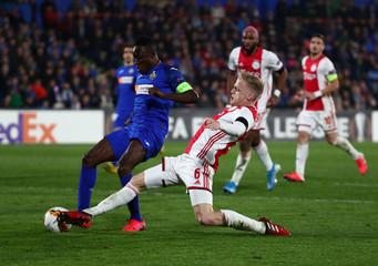 Europa League - Round of 32 First Leg - Getafe v Ajax Amsterdam