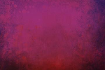 fuchsia grunge background with splatters