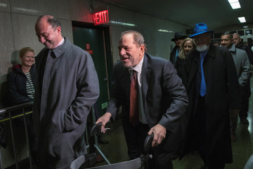 Harvey Weinstein departs New York Criminal Court after the third day of jury deliberations in his sexual assault trial in the Manhattan borough of New York City, New York