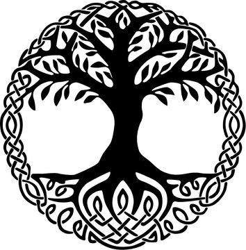 Yggdrasil Weltenbaum Wikinger