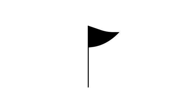 image of flag icon illustration