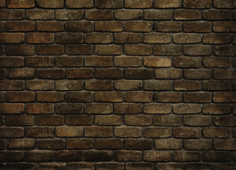 grungy old brick wall for background