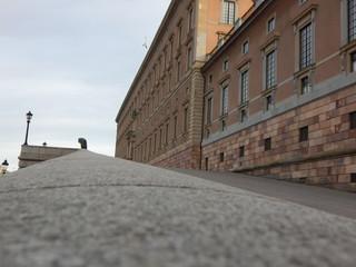 street in old town of tallinn estonia