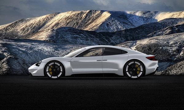 Porsche (Mission E) Taycan Turbo S 2020