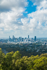 Panorama over Skyline Brisbane