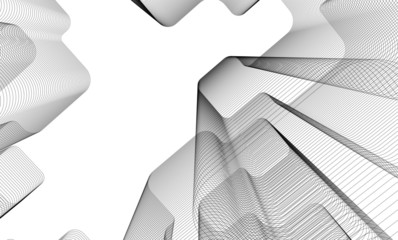 Modern concept architecture vector illustration