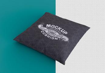 Square Cushion Mockup