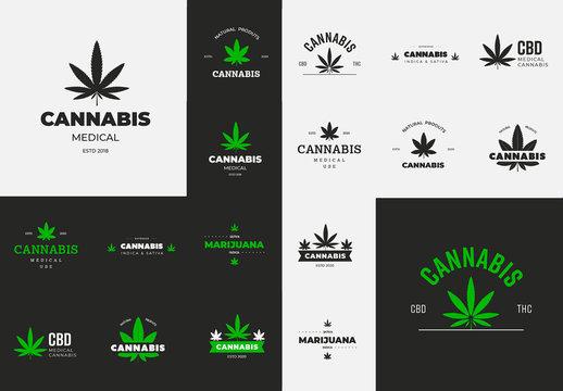 Medical Cannabis Logos