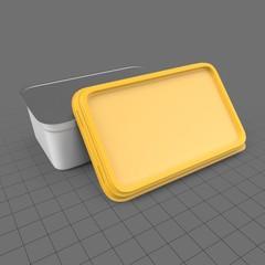 Rectangular margarine packaging 2