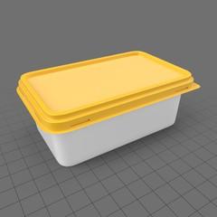 Rectangular margarine packaging 1